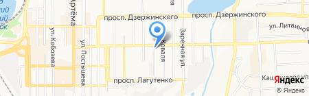 Камея на карте Донецка