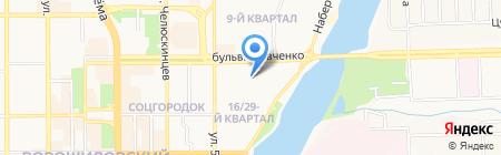 Детский сад №334 на карте Донецка