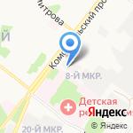 Газпром Газораспределение Белгород на карте Старого Оскола