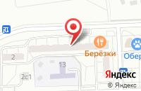 Схема проезда до компании Русал в Москве