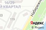 Схема проезда до компании А7 в Донецке
