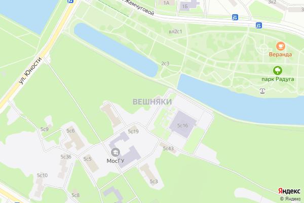 Ремонт телевизоров Район Вешняки на яндекс карте
