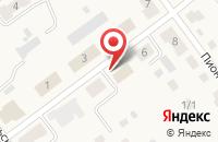 Схема проезда до компании Восток-Сервис в Бородинском