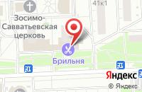 Схема проезда до компании Русская Фабрика Стиля в Москве