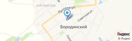 Газпром межрегионгаз Тула на карте Бородинского
