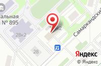 Схема проезда до компании Биайс в Москве