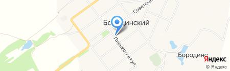 Бородинская детская музыкальная школа на карте Бородинского