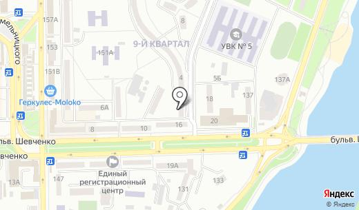 Клуб-Ника. Схема проезда в Донецке