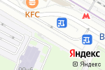 Схема проезда до компании Колёсико в Москве