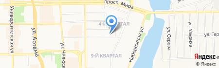 Греющие кабельные системы на карте Донецка