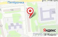Схема проезда до компании ПромКамень в Старом Осколе