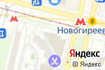 Схема проезда до компании 1001 Тур в Москве