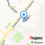 Старооскольский индустриально-технологический техникум на карте Старого Оскола