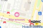 Схема проезда до компании Имидж-студия в Москве