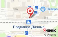 Схема проезда до компании Максимус в Королёве