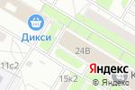 Схема проезда до компании Комплексное Оборудование Квартир в Москве