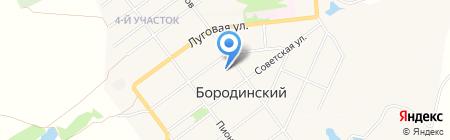 Пожарная часть №49 на карте Бородинского