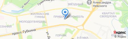 ПРО-КОМ-ФОРТ на карте Старого Оскола