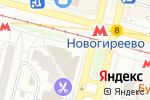 Схема проезда до компании Мадрок в Москве