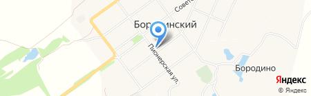 Пункт полиции Бородинский на карте Бородинского