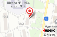 Схема проезда до компании Алком в Москве