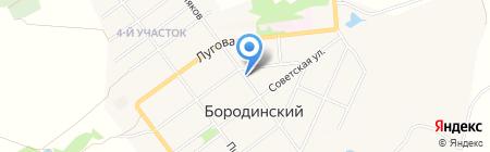 Медиа-М на карте Бородинского