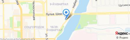 Bueno на карте Донецка