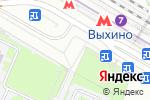 Схема проезда до компании Burger club в Москве