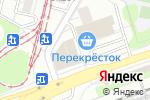 Схема проезда до компании Магазин одежды для дома в Москве