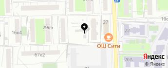 Измайлово на карте Москвы