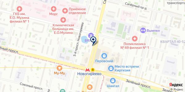Чебурек и... на карте Москве