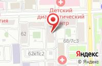 Схема проезда до компании Респект в Москве