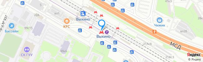 метро Выхино