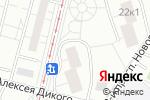Схема проезда до компании Парикмахерская в Москве
