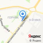 ОРТО-ДОКТОР на карте Старого Оскола