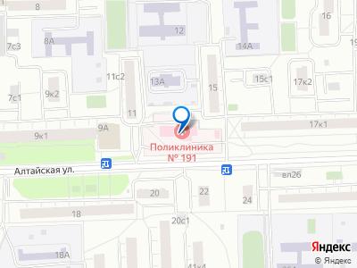 Яндекс карта