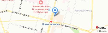 Печати.ru на карте Москвы