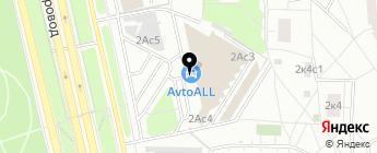 Хард на карте Москвы