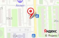 Схема проезда до компании Спортивный Центр Восток в Москве