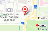 Схема проезда до компании Нур в Москве