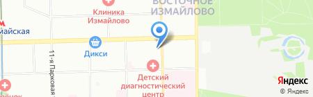 АРГУМЕНТУМ на карте Москвы