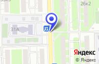 Схема проезда до компании АРХИТЕКТУРНЫЙ ТВОРЧЕСКИЙ ЦЕНТР ПО ПРОЕКТИРОВАНИЮ в Москве