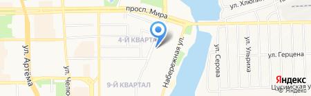 Детский сад №18 на карте Донецка