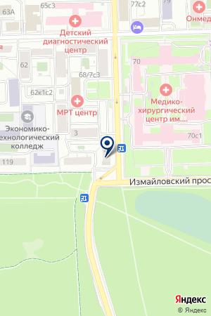 БАР НА 15-ОЙ на карте Москвы