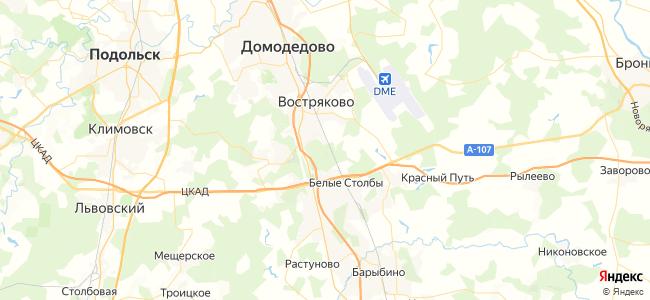Гостиницы и Отели Домодедово недорого - объекты на карте