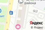Схема проезда до компании Ателье на Ташкентской в Москве