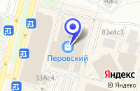 Схема проезда до компании МЕБЕЛЬНЫЙ МАГАЗИН ЛАНГРИС в Москве