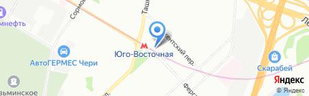 Бахча на карте Москвы