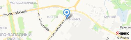 Ювелир ПЛЮС на карте Старого Оскола