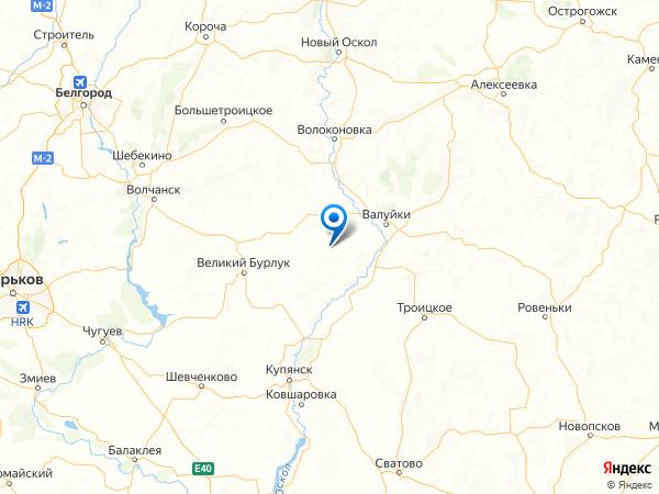хутор Бабка на карте